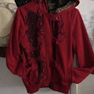 Fox riders company size medium juniors hoodie